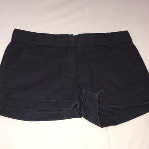 J. Crew Classic Chino Navy Shorts